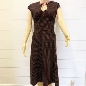 Stop Staring Retro Style Fitted Dress Size…